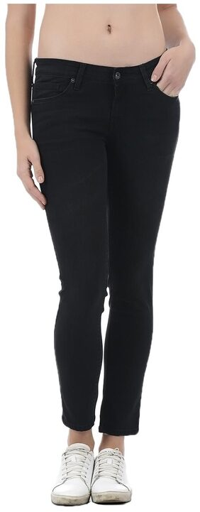 Pepe Jeans Women Black Cotton Jegging