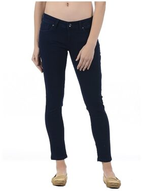 Pepe Jeans Women Blue Cotton Jegging