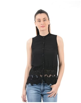 Solid Women Pepe Pepe Jeans Shirt Jeans Rq08nwOn