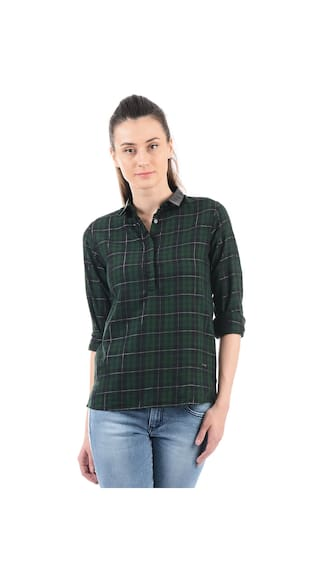 Jeans Women Checkered Pepe Shirt Jeans Women Pepe Checkered nwxIH7qw