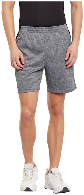 PERF Black Cationic Regular Fit Training Essential Short for Men