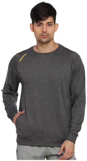 PERF Charcoal Men Cationic Transfer Cationic SweatShirt