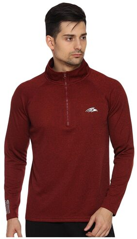 PERF Clayred Men Cationic Transfer Out-Run SweatShirt