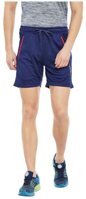 PERF Collegiate Navy Dri Fit Regular Fit Knit Short for Men