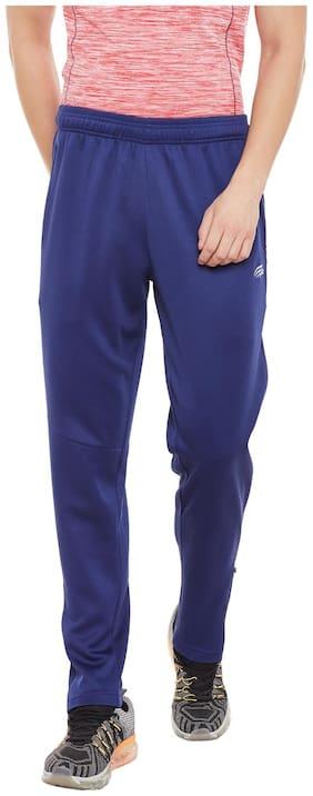 PERF Men Medieval Blue Regular Fit Precision Run Track Track Pant
