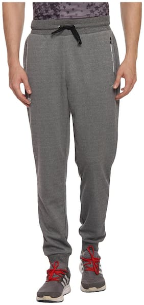 PERF Steelgray Cationic Transfer Cationic Jogger Pant For Men