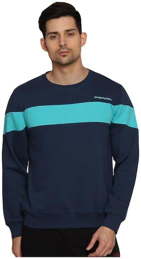 PERF Uniformblue Men Engineered Transfer Sweatshirts