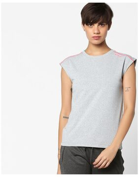 PERFORMAX by Reliance Trends Women Grey Regular Tshirts