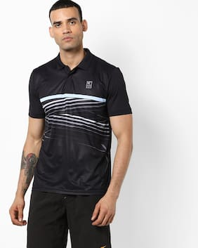 Performax By Reliance Trends Black T Shirt