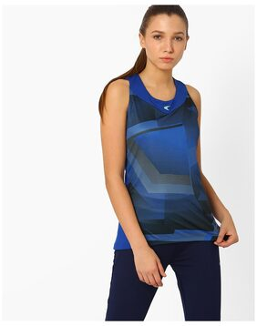 PERFORMAX By Reliance Trends Women Blue Tshirt & Tank Top