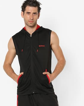 Performax By Reliance Trends Men Polyester Jacket - Black