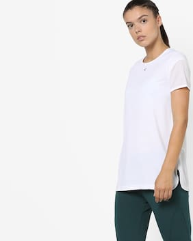 Performax By Reliance Trends White T-Shirt