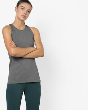 Performax By Reliance Trends Women Sports T-Shirt - Black
