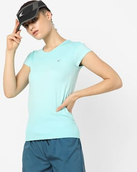 Performax By Reliance Trends Women Blue  T-Shirt
