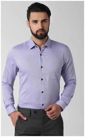 Men Slim Fit Textured Formal Shirt