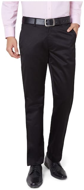 Men Tapered Fit Formal Trouser Pack Of 1