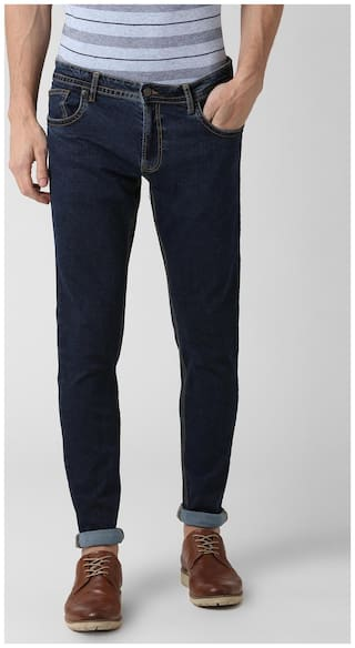 Peter England Men Blue Skinny Fit Jeans