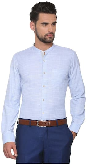 Peter England Blue Shirt