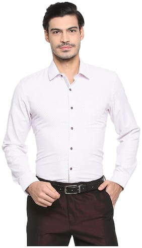 Men Super Slim Fit Printed Formal Shirt ,Pack Of Pack Of 1
