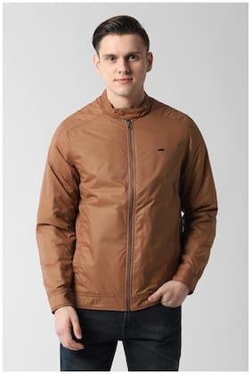 Men Polyester Long Sleeves Jacket