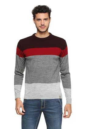 Peter England Grey Sweater