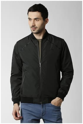 Men Polyester Long Sleeves Jacket