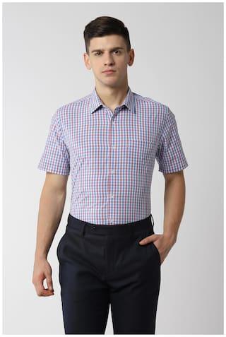 Peter England Men Slim fit Formal Shirt - Multi
