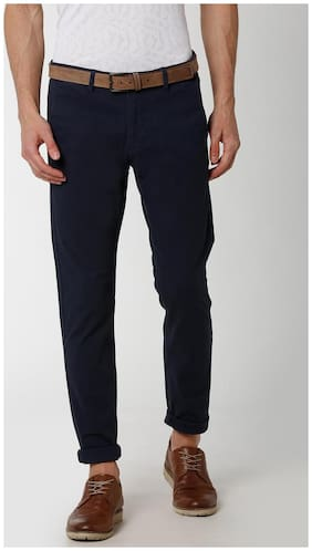 Peter England Blue Trousers