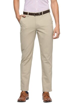 Peter England Beige Trousers