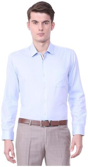 Men Regular Fit Weaved Formal Shirt