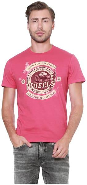 Peter England Peter England Pink T Shirt