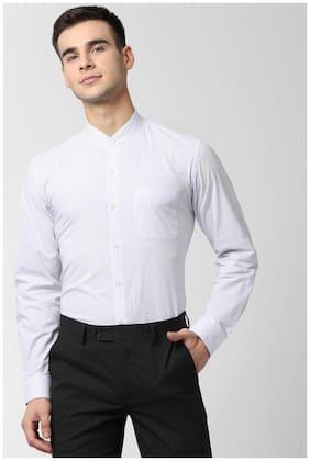 Men Slim Fit Striped Formal Shirt