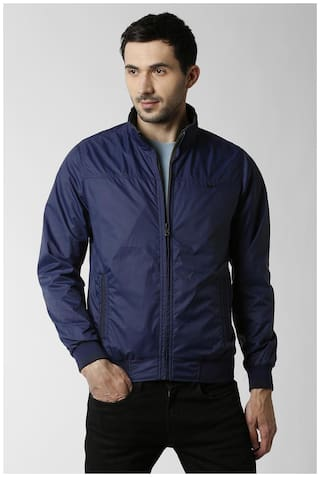Peter England Blue Reversible Jacket