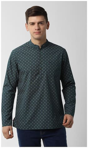 Men Printed Slim Fit Kurta