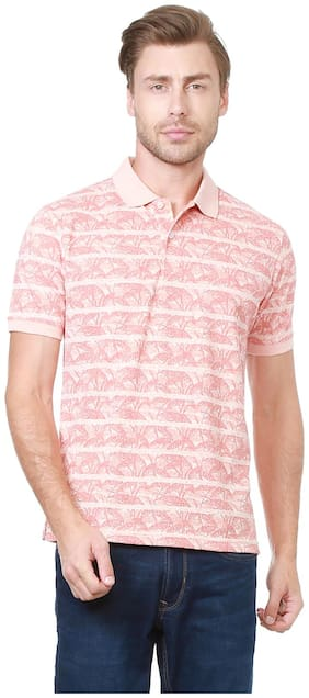 Peter England Peach T Shirt