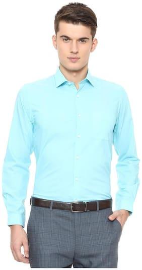 Peter England Blue Shirt
