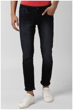 Men Tapered Fit Mid Rise Jeans