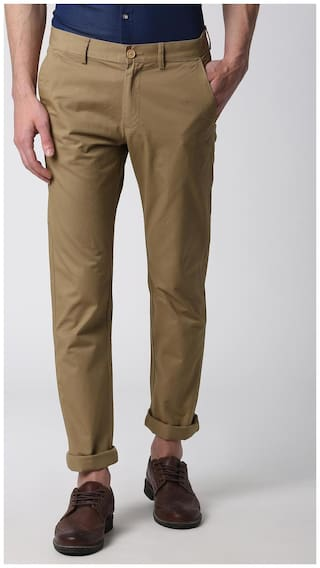 Peter England Brown Trousers