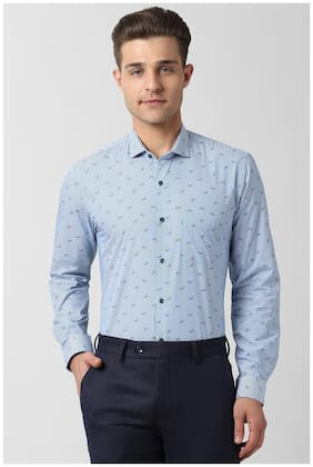 Men Slim Fit Printed Formal Shirt ,Pack Of Pack Of 1