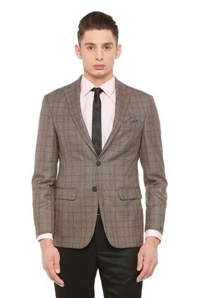 Peter England Brown Blazer