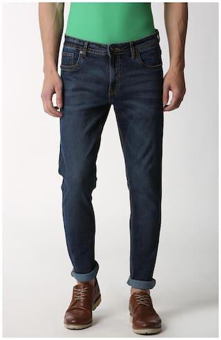 Peter England Men Blue Slim Fit Jeans