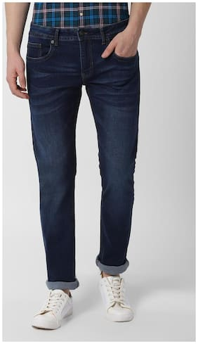 Peter England Men Mid rise Skinny fit Jeans - Blue