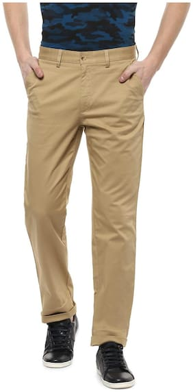 Men Slim Fit Regular Trousers ,Pack Of Pack Of 1