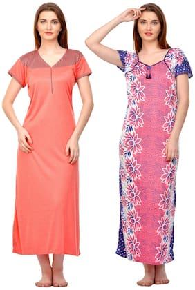 Phalin Pink Night Gown
