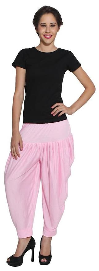 Light Style colored Pink Dhoti Pan Pietra 4xqYdOq