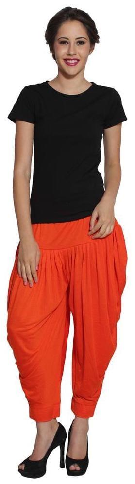 Pietra Light Orange colored Pan Style Dhoti (Pack of 3)
