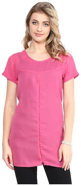 pink & Black zipper top