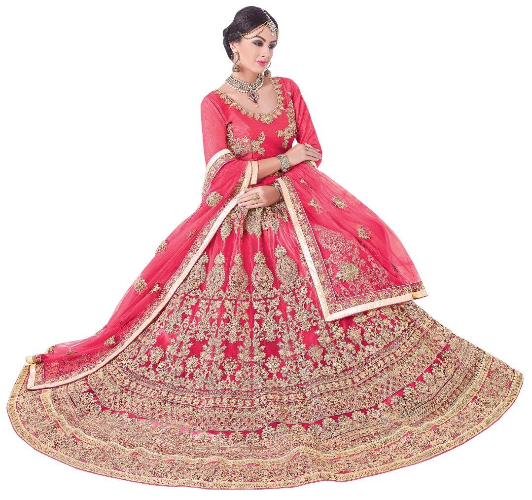 Clothing, Shoes & Accessories Other Women's Clothing Indian Designer Orange Skirt Ethnic Festival Party Wedding Wear Lehenga Choli