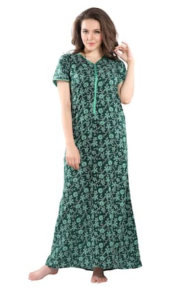 PIU Green Night Gown