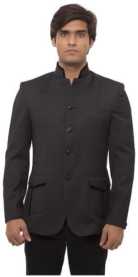 Platinum Studio Black Blazer (Size-36)